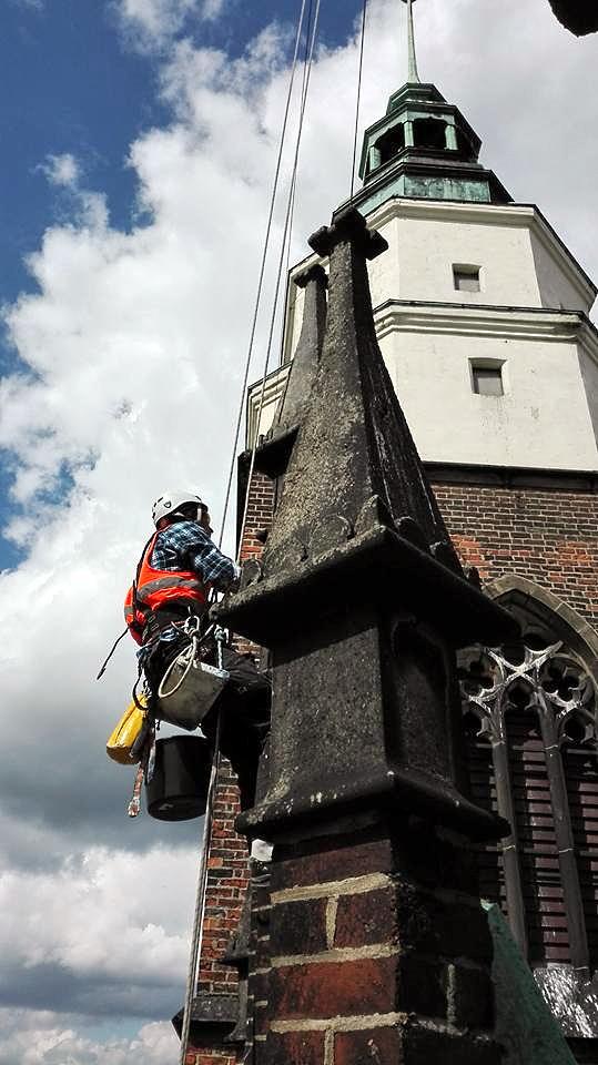 Реставрація фасадів на будинках. Кривий Ріг
